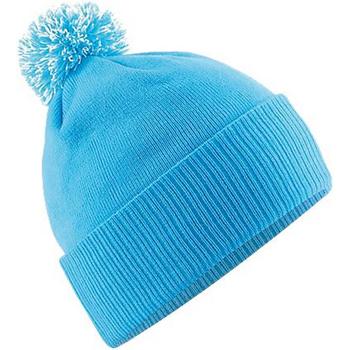 Accesorios textil Niña Gorro Beechfield Snowstar Azul/blanco