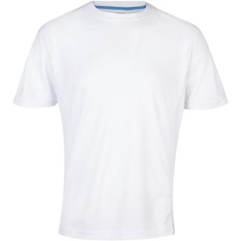 textil Hombre Camisetas manga corta Awdis JC011 Blanco polar