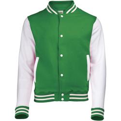 textil Niños cazadoras Awdis JH43J Verde/blanco