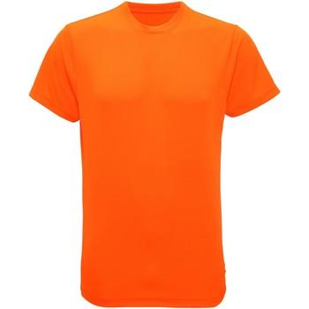 textil Hombre Camisetas manga corta Tridri TR010 Naranja Rayo