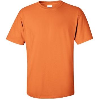 textil Hombre Camisetas manga corta Gildan Ultra Mandarina
