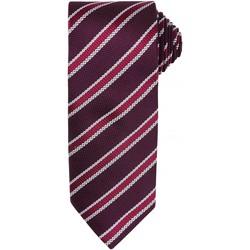 textil Hombre Corbatas y accesorios Premier PR783 Granate/berenjena