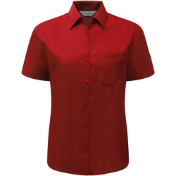 textil Mujer Camisas Russell 935F Rojo