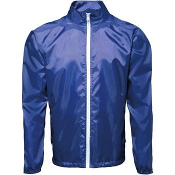 textil Hombre Cortaviento 2786 TS011 Azul royal / Blanco