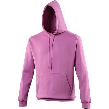 textil Sudaderas Awdis College Púrpura Rosado
