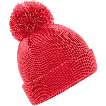 Accesorios textil Niños Gorro Beechfield B406B Rojo brillante