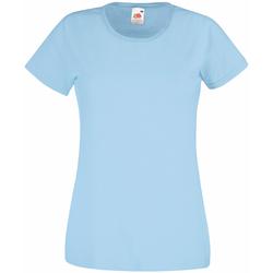 textil Mujer Camisetas manga corta Universal Textiles 61372 Azul claro