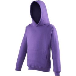 textil Niños Sudaderas Awdis JH01J Púrpura
