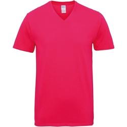 textil Hombre Camisetas manga corta Gildan GD016 Heliconia