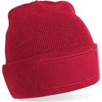 Accesorios textil Hombre Gorro Beechfield B445 Rojo