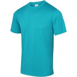 textil Hombre Camisetas manga corta Awdis JC001 Turquesa