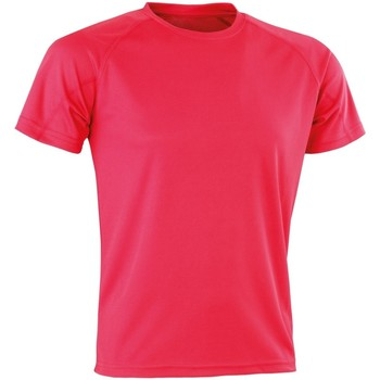 textil Camisetas manga corta Spiro Aircool Rosa Súper