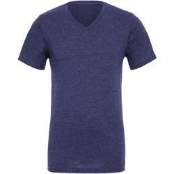 textil Hombre Camisetas manga corta Bella + Canvas CA3005 Azul real