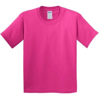 textil Niños Camisetas manga corta Gildan 5000B Rosa Heliconia