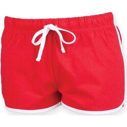 textil Mujer Shorts / Bermudas Skinni Fit SK069 Rojo/Blanco