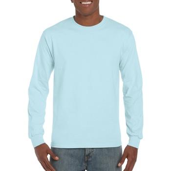 textil Hombre Camisetas manga larga Gildan Hammer Chambray