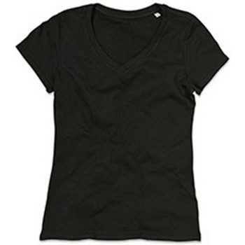 textil Mujer Camisetas manga corta Stedman Stars Janet Negro ópalo