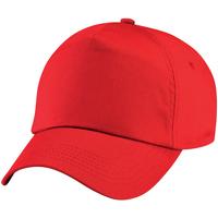 Accesorios textil Niños Gorra Beechfield BC10B Rojo brillante