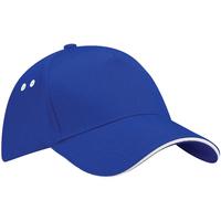 Accesorios textil Gorra Beechfield B15C Azul royal/Blanco