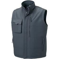 textil Hombre Chaquetas Russell 014M Gris militar