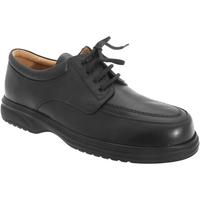 Zapatos Hombre Derbie Roamers Superlite Negro