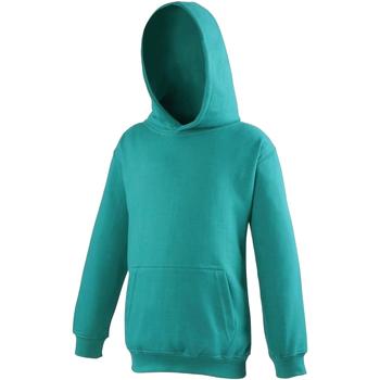 textil Niños Sudaderas Awdis JH01J Verde jade