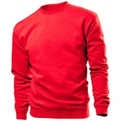 textil Hombre Sudaderas Stedman  Rojo Escarlata