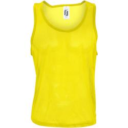 textil Hombre Camisetas sin mangas Sols Anfield Amarillo limón