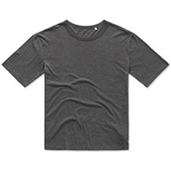 textil Hombre Camisetas manga corta Stedman Stars  Gris Pizarra