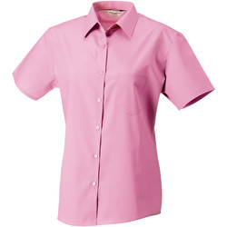 textil Mujer Camisas Russell J937F Rosa claro