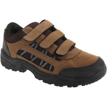 Zapatos Niño Senderismo Dek  Caqui/Marrón