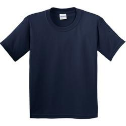 textil Niños Camisetas manga corta Gildan 5000B Azul marino
