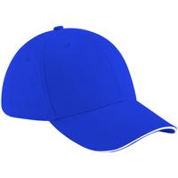 Accesorios textil Gorra Beechfield B20 Azul royal/Blanco