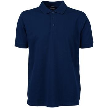 textil Hombre Polos manga corta Tee Jays TJ1405 Azul Marino