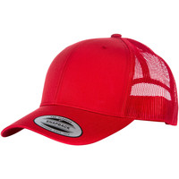 Accesorios textil Gorra Yupoong YP023 Rojo/Rojo