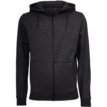 textil Hombre Sudaderas Build Your Brand BY012 Negro