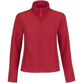 textil Mujer Polaire B And C JWI63 Rojo/gris