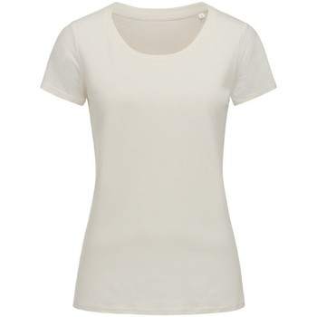 textil Mujer Camisetas manga corta Stedman Stars  Blanco Invierno
