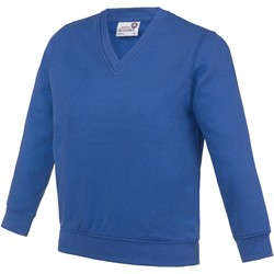 textil Niños Sudaderas Awdis  Azul eléctrico