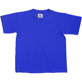 textil Niños Camisetas manga corta B And C Exact Azul