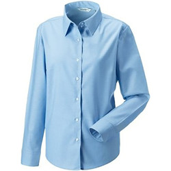 textil Mujer Camisas Russell 932F Azul Oxford