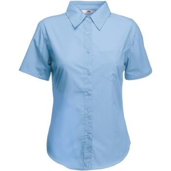 textil Mujer Camisas Fruit Of The Loom 65014 Azul medio