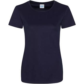 textil Mujer Camisetas manga corta Awdis JC025 Azul marino