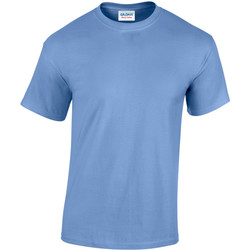 textil Hombre Camisetas manga corta Gildan Heavy Azul Carolina