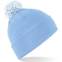 Accesorios textil Niña Gorro Beechfield Snowstar Azul Clásico/Blanco