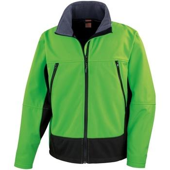 textil Hombre Cortaviento Result R120X Verde Brillante/Negro