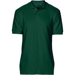 textil Hombre Polos manga corta Gildan 64800 Verde Bosque