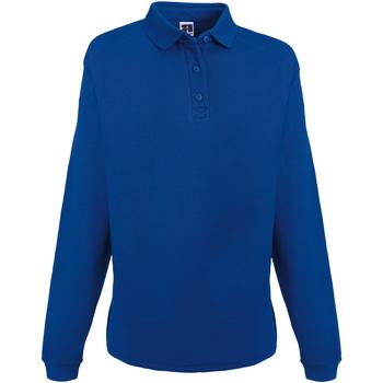 textil Hombre Sudaderas Russell Heavy Duty Azul eléctrico