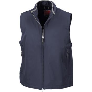 textil Hombre Chaquetas de punto Result Gilet Azul real