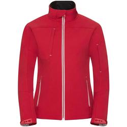 textil Mujer Cortaviento Russell R410F Rojo